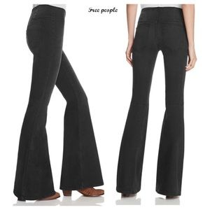 Nwt free people flare leg jeans